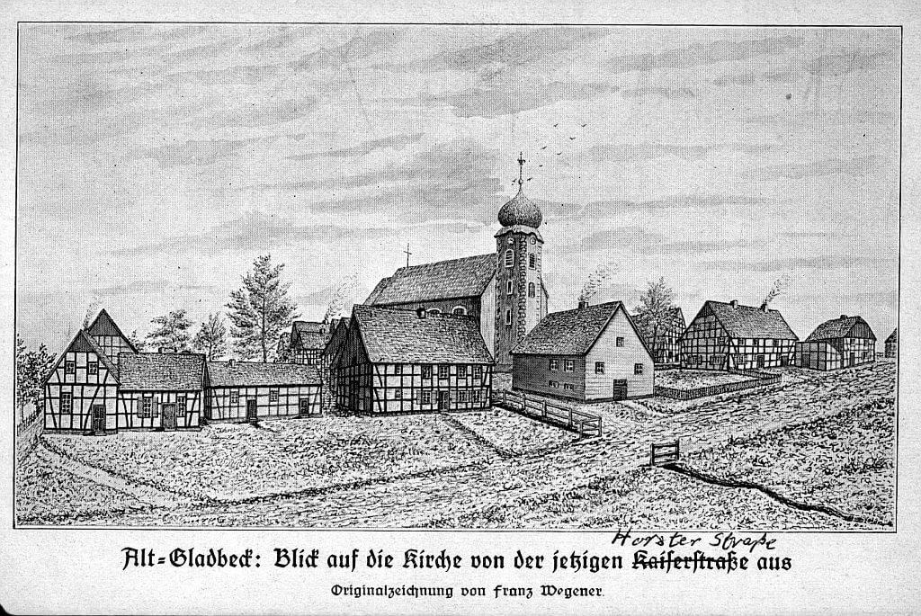 Gladbeck-einst-Kirchdorf