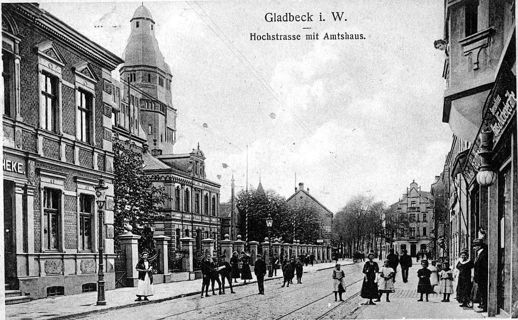 Gladbeck-einst-Rathaus