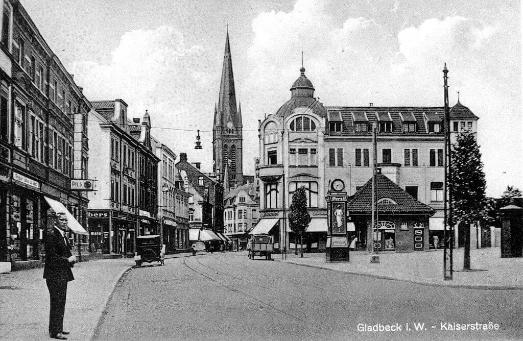 Marktplatz-Horster-Straße-einst