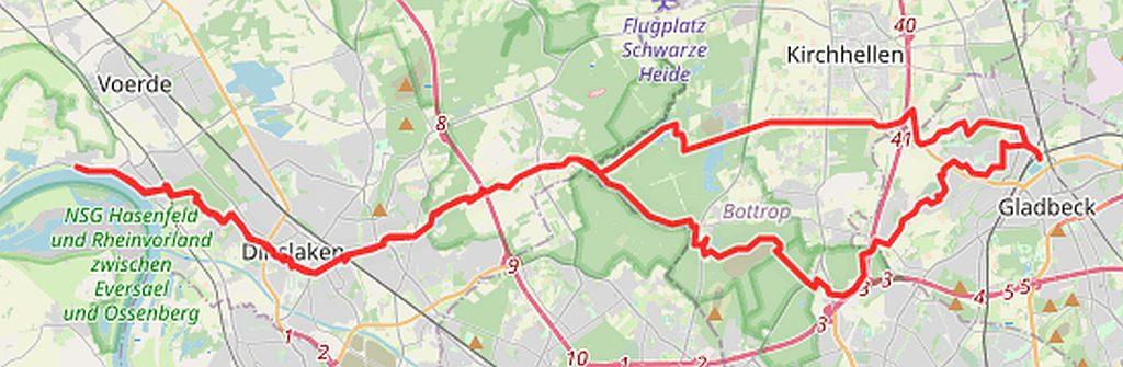 Radtouren Götterswickerhamm