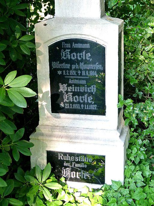 Gladbecker Friedhöfe Ehrengrab