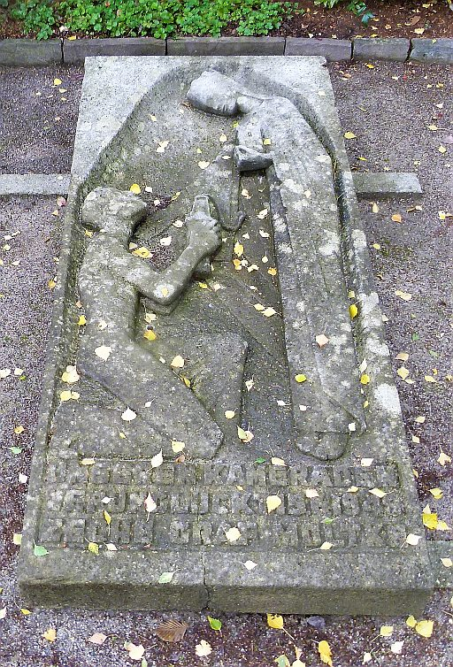 Gladbecker Friedhöfe Ehrengrab Bergleute