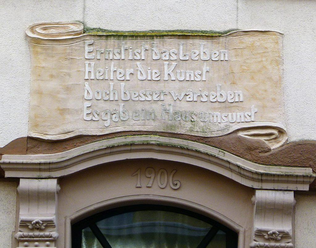 Unbekanntes Friedenstraße 49