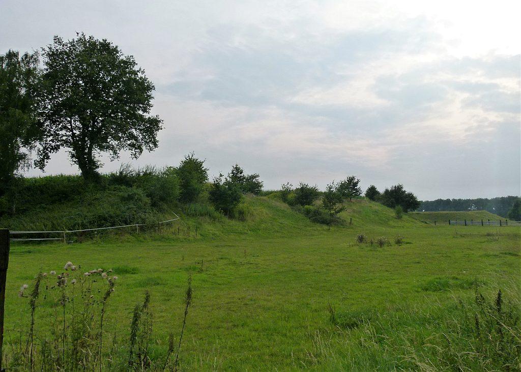 Unbekanntes Grün Hügel an der Scholver Straße