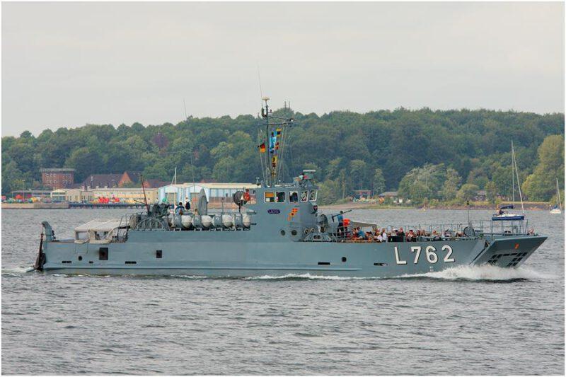 Partnerstädte Marineschiff