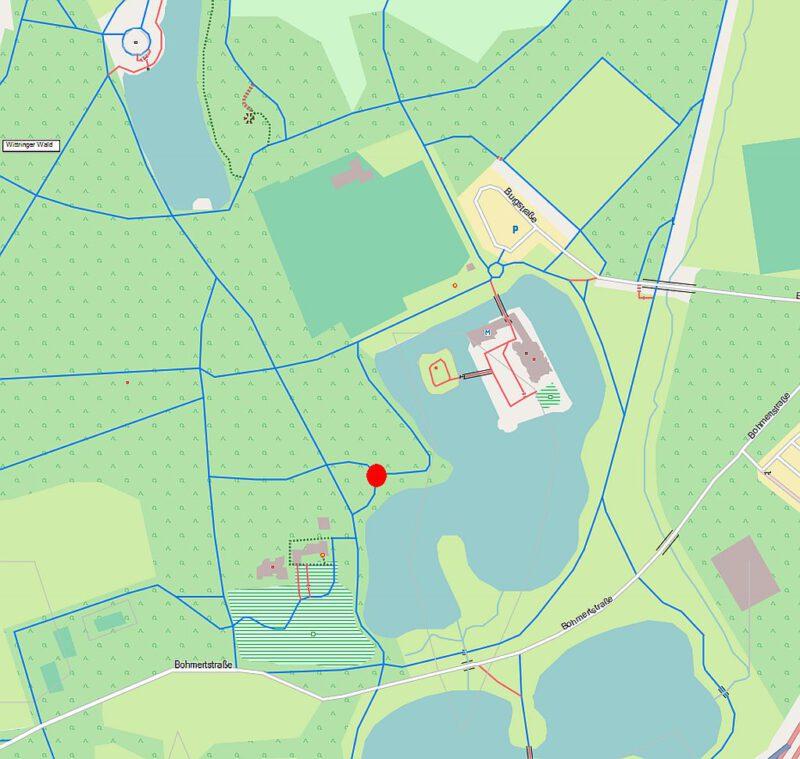 Unbekanntes Gladbeck Mühlstein