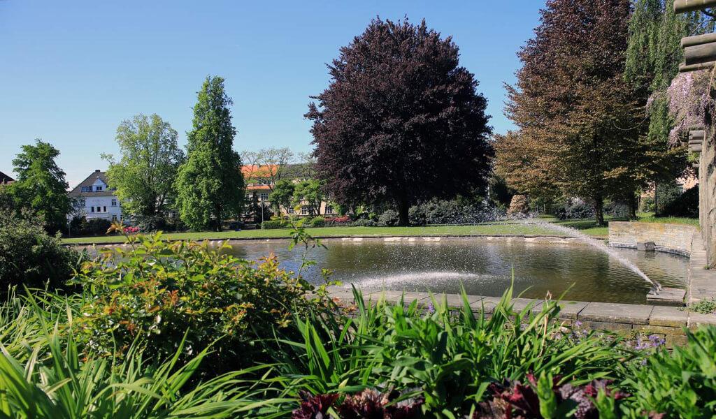 Öffentliche Parks Jovypark