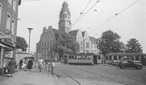 Chronik Blick auf das Rathaus