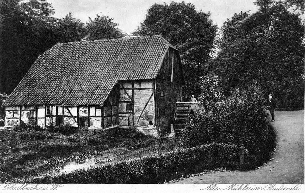 Unbekanntes Gladbeck Wittringer Mühle