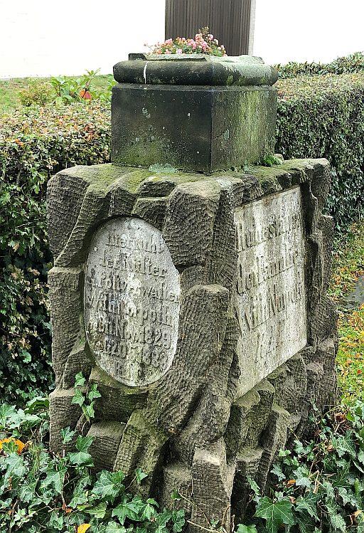 Gladbecker Friedhöfe Ältestes Grabdenkmal